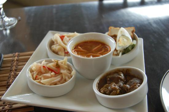 English Tea House & Restaurant, Kota Kinabalu: Platter