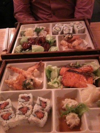 NADA Sushi Restaurant INC : Our dinner