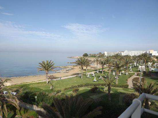 Louis Ledra Beach: View from our room - first thing in the morning