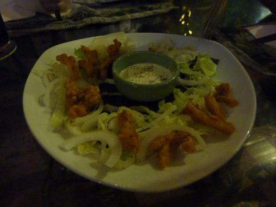 Champor-Champor Restaurant & Bar : Calamari with great taste but small serving