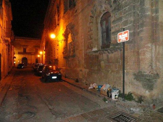 Hotel Vico Regio: on the way to restaurant