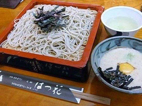 Hatsuhana Soba Honten: せいろそば 1,100円