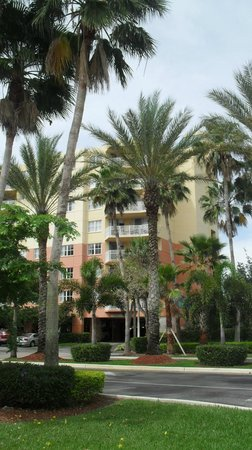 Vacation Village at Weston: Edificio Heron I desde la calle