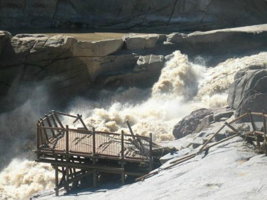 Augrabies Falls National Park: Augrabies Falls - the broken platform