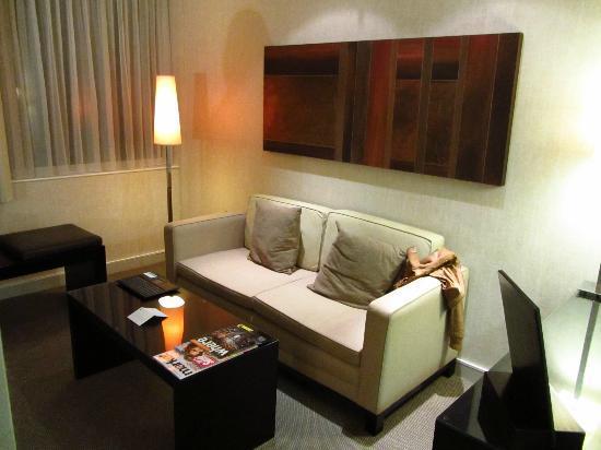 K West Hotel & Spa: Sofá