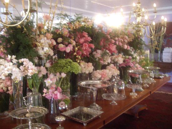 Casa Grande Sao Vicente: Flores do casamento