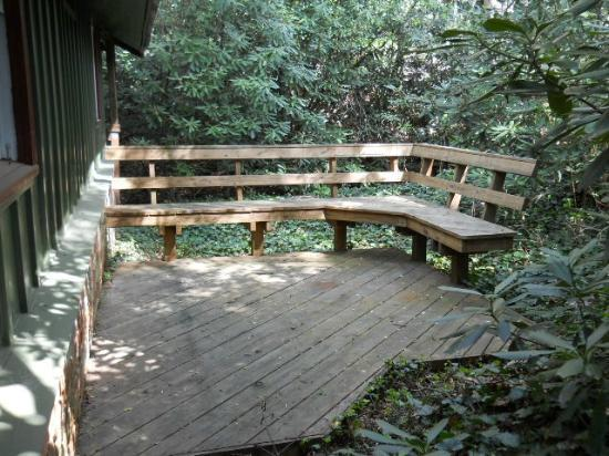 Timberwolf Creek Bed & Breakfast: Outdoor area