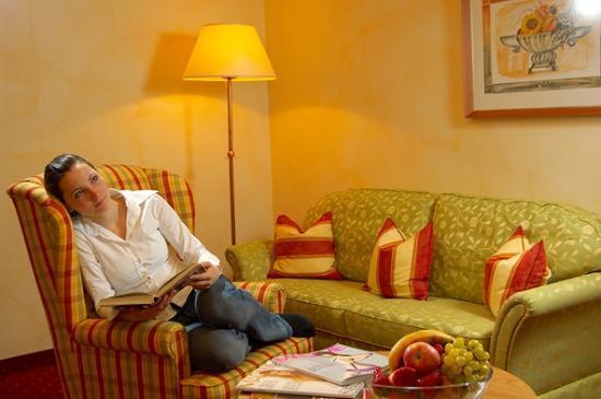 Hotel Neuwirt: ruhige Leseecke
