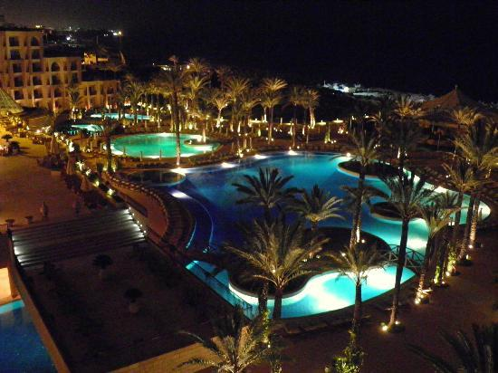 Moevenpick Resort & Marine Spa Sousse: Night View from 7th floor room