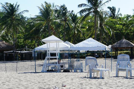 Montemar Beach Club: Lifeguard post