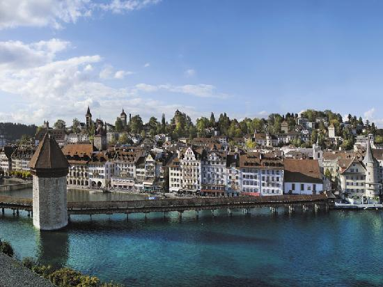 Люцерн, Швейцария: Oldtown of Lucerne
