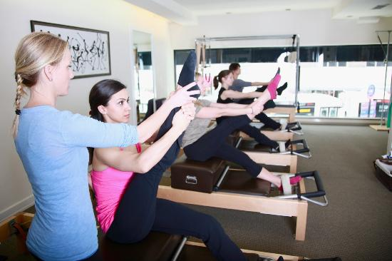Uptown Pilates on Madison in Action!