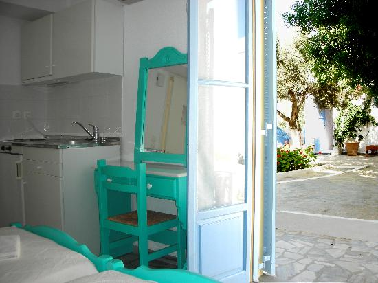 Agrikia Bed & Breakfast : Studio with kitchen