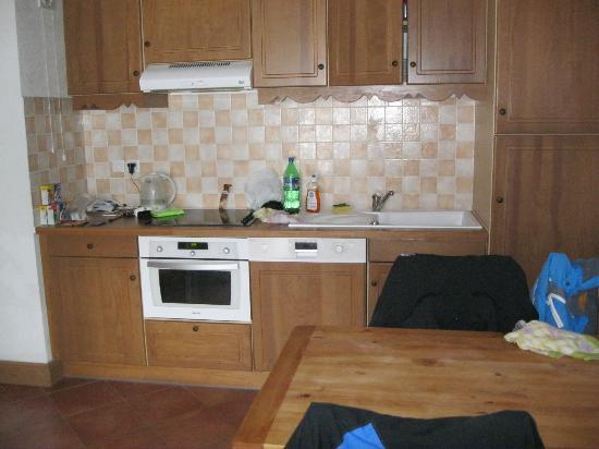Residence Club mmv Le Hameau des Airelles: Our kitchen