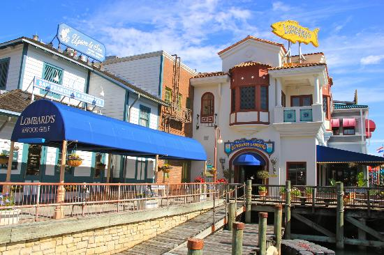 Exterior picture of lombard s seafood grille orlando for Fish restaurant orlando