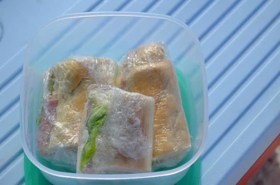 Posada Guaripete: Sanduíches da cava