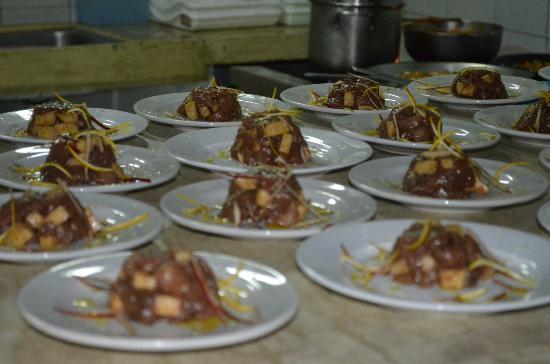 Posada Guaripete: Ceviche de entrada no jantar