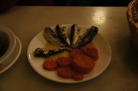 Casa Placido: tapas di sardine