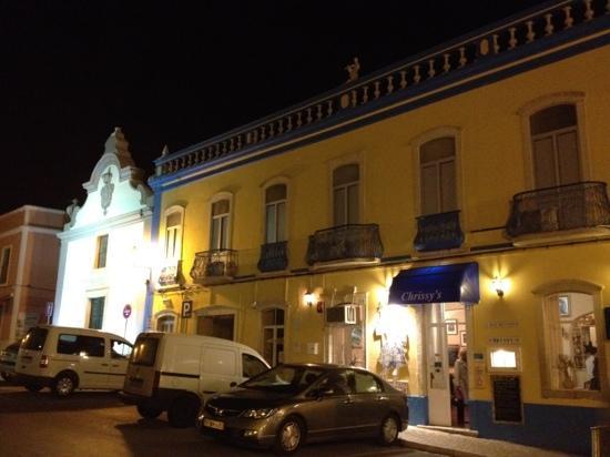 Chrissy's: front of restaurant