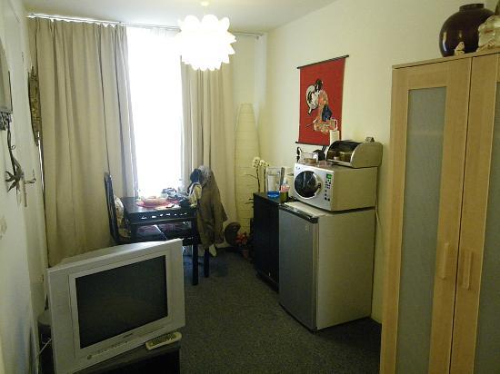 Palace B&B: pequeño cuarto de estar.