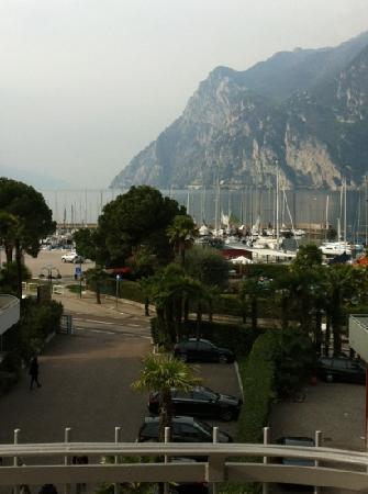 Hotel Villa Enrica : Aussicht vom Zimmer !