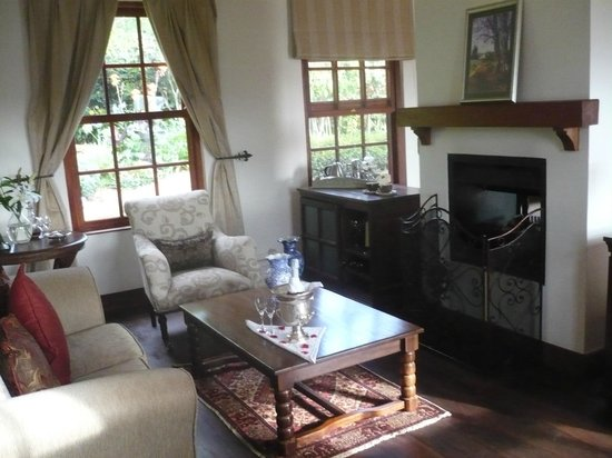 The Manor at Ngorongoro: Our living area