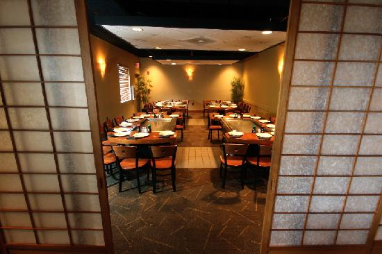 Nagoya Japanese Steakhouse and Sushi : Private Dining Room