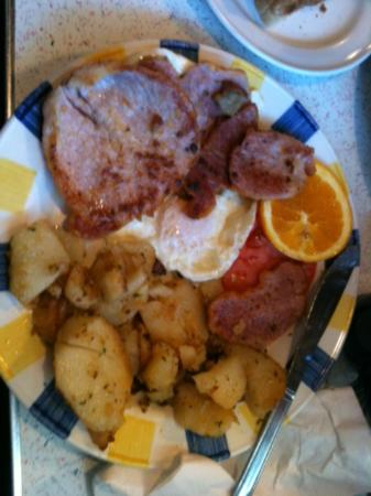Wimpys Diner: The Jr. Peameal plate. More than a meal.