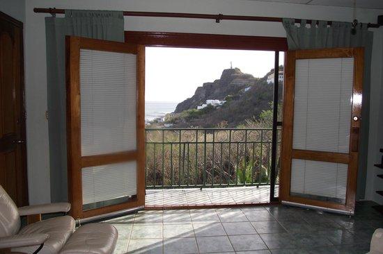 Las Palmas B&B: Balcony doors