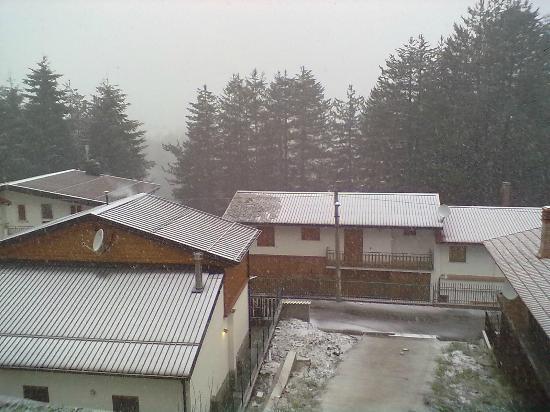 Hotel Meranda: Nevicata di Pasqua a Camigliatello