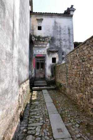 Qianxian Nanping Village Scenic Resort: Doorway deco