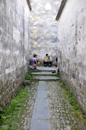 Qianxian Nanping Village Scenic Resort: More art students