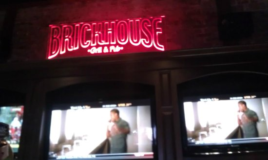 Brickhouse Grill & Pub: Interior - Above Bar