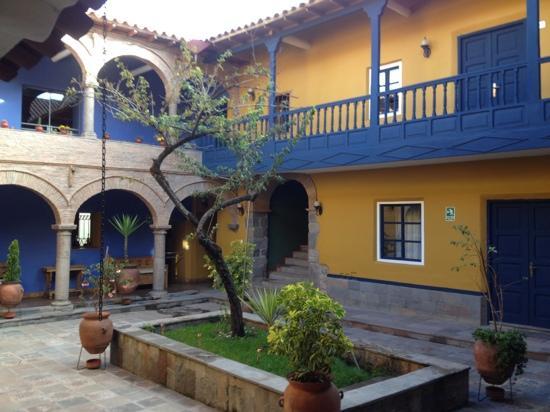 Tambo del Arriero Hotel Boutique: beautiful courtyard
