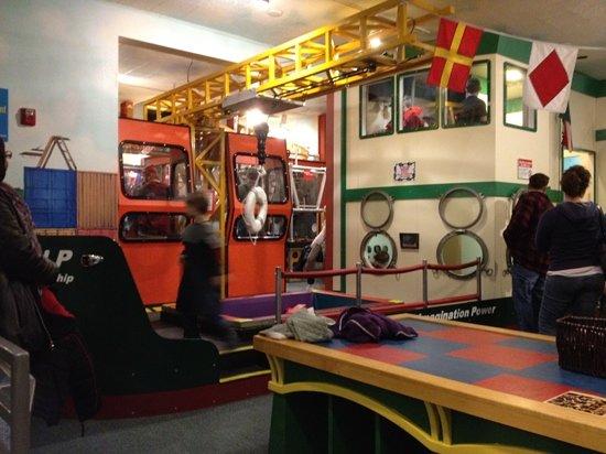 Hands On Children's Museum: inside the old children's museum