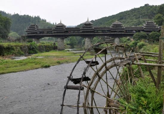 Sanjiang, China: Chengyang Bridge