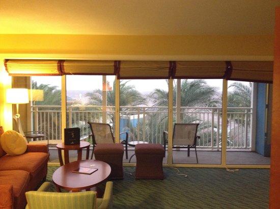 Renaissance Curacao Resort & Casino : Livingroom