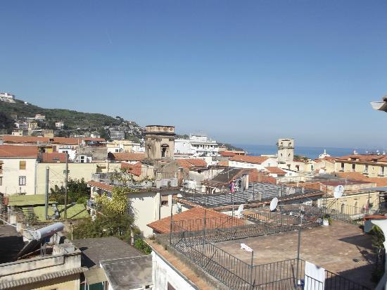 Belvedere Sorrento B&B: La vista dal terrazzo