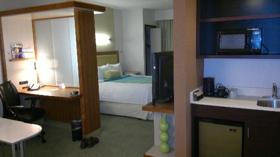 SpringHill Suites San Antonio Downtown/Alamo Plaza: Nice and brand new accomodation