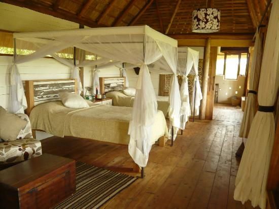 Kyambura Gorge Lodge: Bedroom