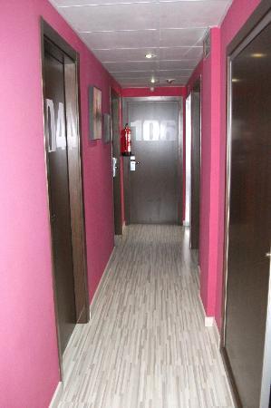 Hotel Fontanella : First floor corridor