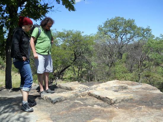 Bulawayo, Simbabwe: Mysterious cross