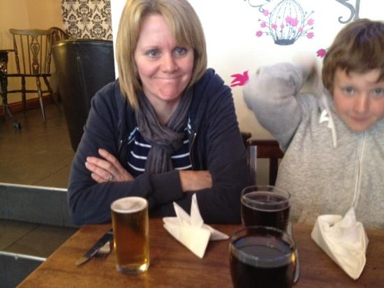 The Hatless Heron: the lager is great