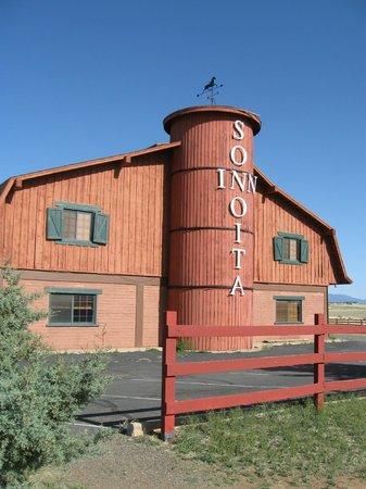 Sonoita Inn: West end of building