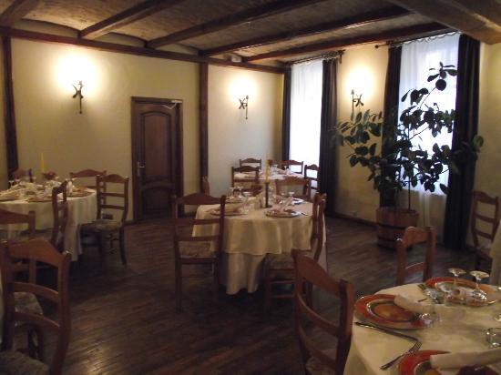 Hotel Sighisoara: Hotel Dining Room