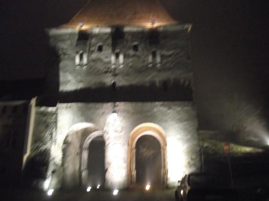 Hotel Sighisoara: Sighisoara at night