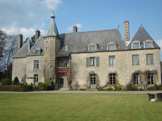 Château de Saint Paterne : View from the garden