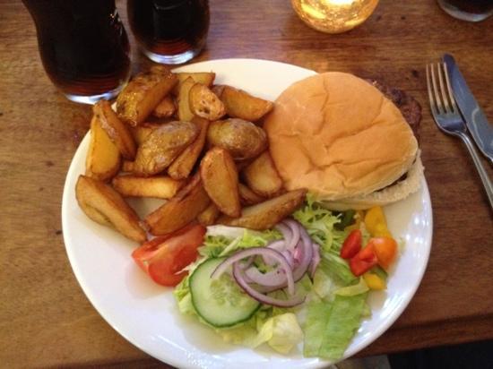 The Hatless Heron: The Steak Burger