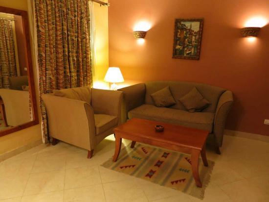 Creative Green Hotel: Lounge in Room 804
