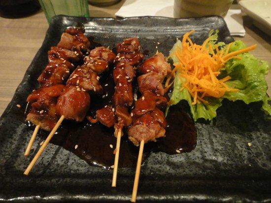 Sushi On Bloor: Chicken yakitori
